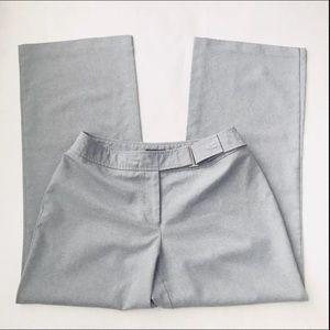 New York & Company Dress Pant Women 8 Petite Grey